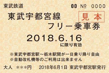 「フリー乗車券」のイメージ