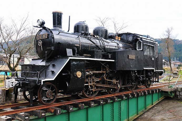 若桜鉄道で「C12 167の運転体験」開催