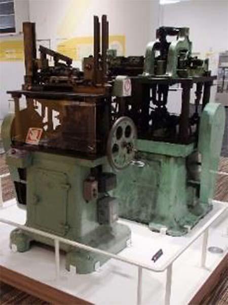 硬券印刷機