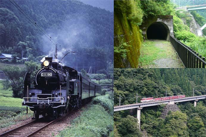 大井川鐵道,SLとアプト式鉄道に乗ろう!「探検!?ミステリートンネルハイク」実施