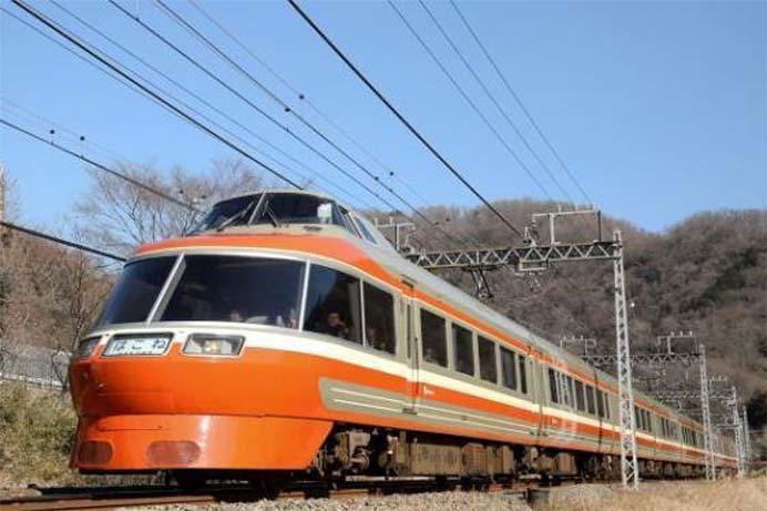 小田急,7000形ロマンスカー「LSE」最終イベント列車への参加者募集