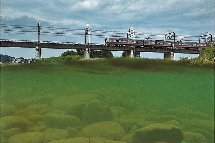 京王聖蹟桜ヶ丘ショッピングセンターで写真展「京王線と多摩をゆく電車たち」開催