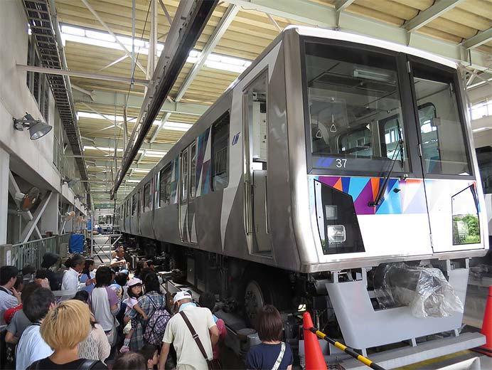 横浜シーサイドラインで「激レア☆車両基地探検」開催