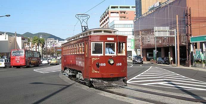 長崎電気軌道,開通記念の日で「明治電車168号」運転