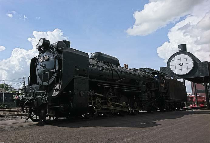 SLキューロク館で「D51 146号蒸気機関車の体験運転会」開催