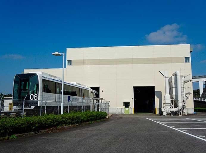 愛知高速交通,リニモ車両基地を特別公開