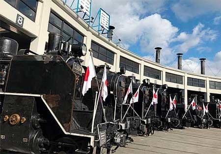 京都鉄道博物館で「SL頭出し展示」開催