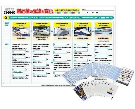 鉄道博物館ワークシート 新幹線編