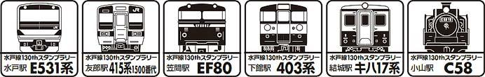 JR東日本「水戸線開業130周年記念イベント」開催