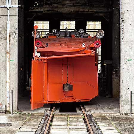 津山まなびの鉄道館で「DD15搭載 転車台回転実演」開催