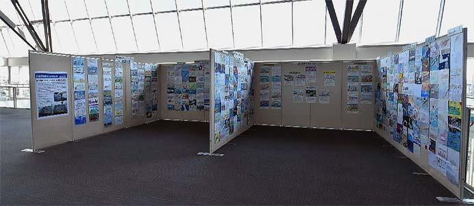 鉄道博物館で「夢の電車イラストコンテスト」の応募作品を展示