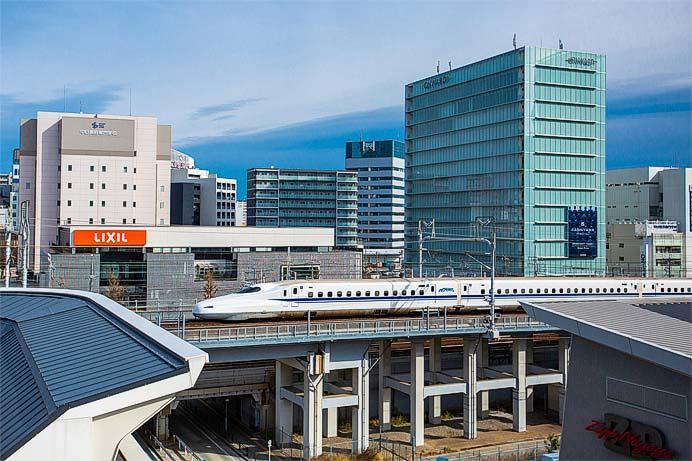 ストリングスホテル名古屋からの展望