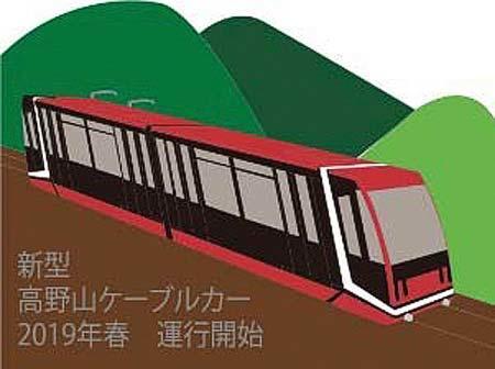 南海「新型(4代目)高野山ケーブルカー運行開始記念キャンペーン」実施