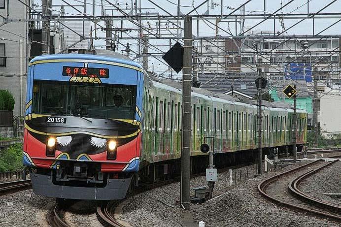 西武「2代目銀河鉄道999デザイン電車さよならイベント」開催(1号車)