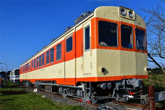 ほっとパーク鉾田で,鹿島鉄道の車両公開など実施