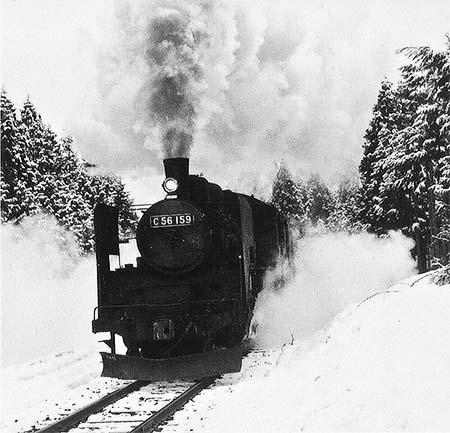 「蒸気機関車写真展・国鉄七尾線 終焉のC56」開催