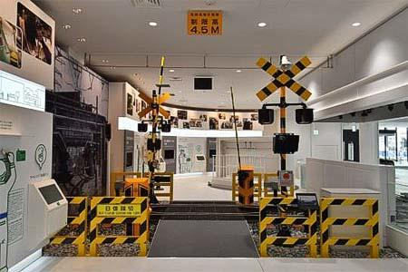 鉄道博物館で,踏切事故防止キャンペーンイベントを開催