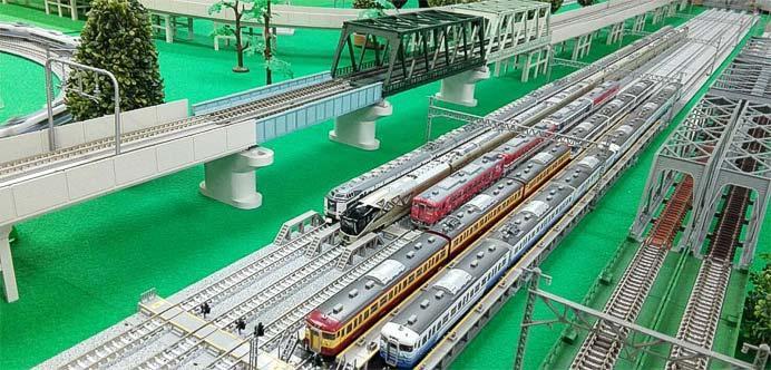 新津鉄道資料館で,新潟趣味鉄振興会による「鉄道模型走行会」実施
