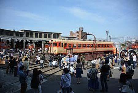 津山まなびの鉄道館,「来館者20万人達成記念 第4回扇形こどもまつり」開催