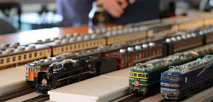 新津鉄道資料館で,萬代鉄道模型同好会による「鉄道模型走行会」実施