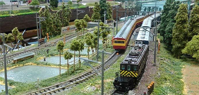 新津鉄道資料館で,鉄道ジオラマ新潟による「鉄道模型走行会」実施