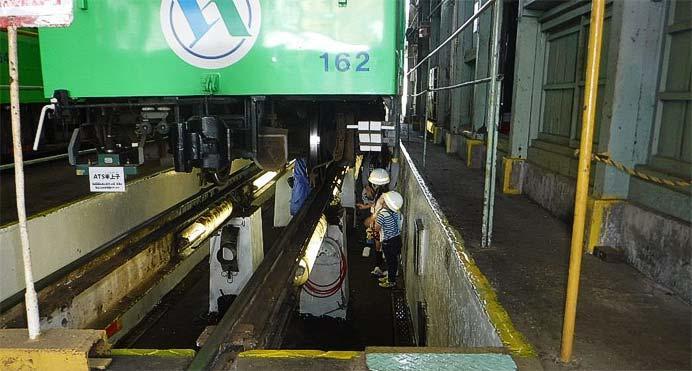 四日市あすなろう鉄道で,こどもの日限定「イベント貸切列車で行く!!内部車庫の内部を見に行こう」開催