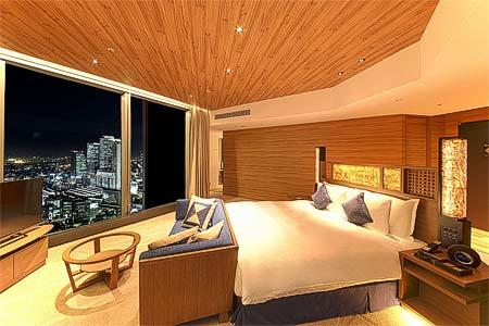 名古屋プリンスホテル スカイタワー「トレインビュー&プラレールルームプラン」内装