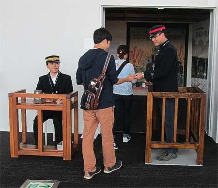 鉄道博物館,ボランティアイベント「出改札実演」実施