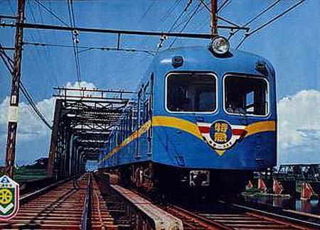 運行開始当初の特急列車(1000形)