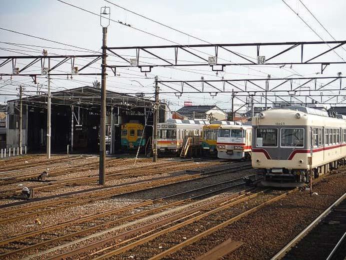 「富山地方鉄道の電車車庫を見学!」開催