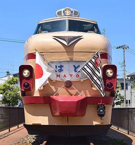 ボンネット型特急電車保存会「スーパーボンまつり-503」開催