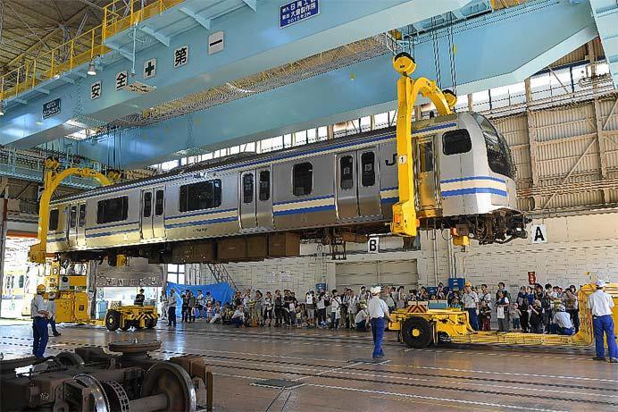 JR東日本東京総合車両センターで「〜ちびっこ集まれ!楽しい電車のお祭りだ!夏休みフェア 2019〜」開催