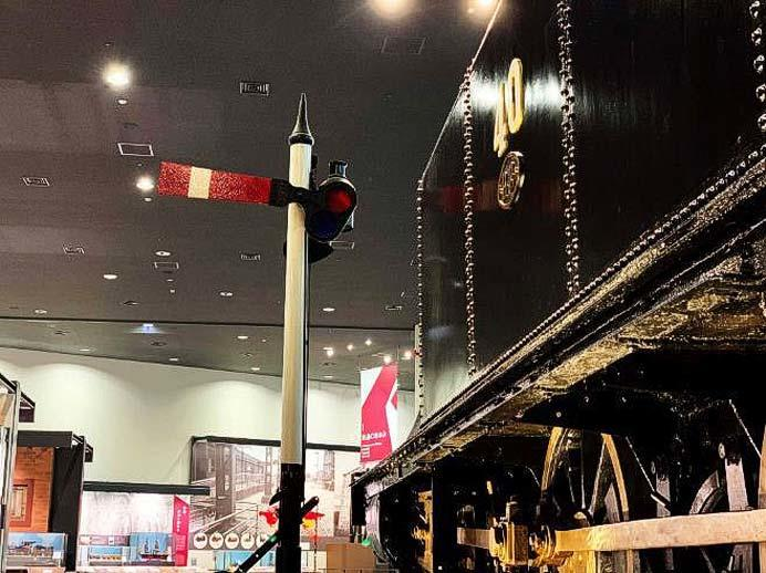 京都鉄道博物館,展示品解説セミナー「腕木式信号機」開催