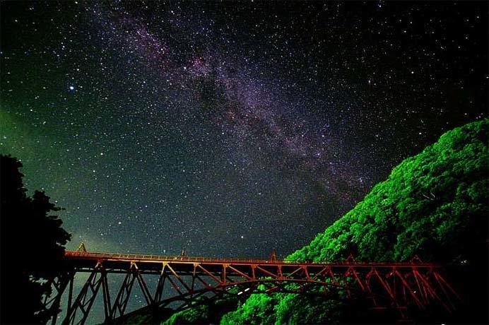 黒部峡谷鉄道「星空トロッコ」の参加者を募集