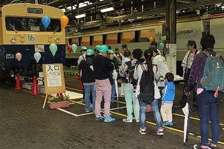 長野総合車両センターで「JR長野 鉄道フェスタ」を開催