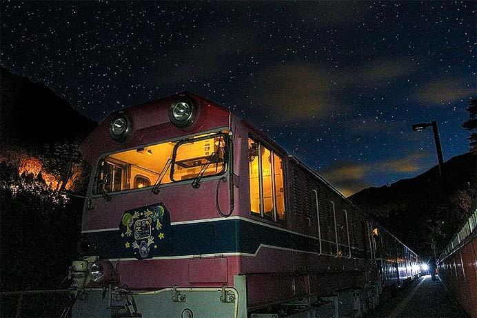 大井川鐵道井川線で「星空列車」を運転