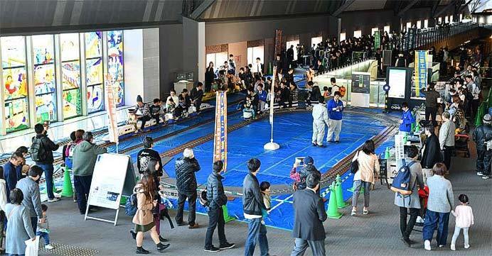 鉄道博物館で「第9回 工業高校生がつくる鉄道展」開催