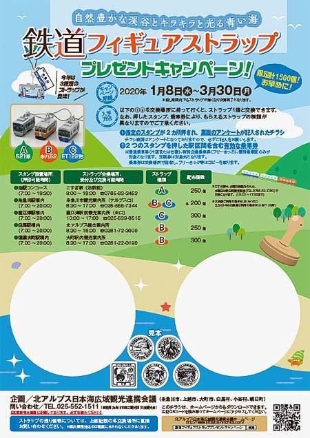 「鉄道フィギュアストラップ プレゼントキャンペーン!」開催