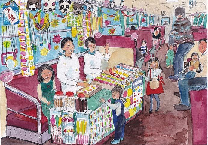 紀州鉄道で「駄菓子列車」など運転
