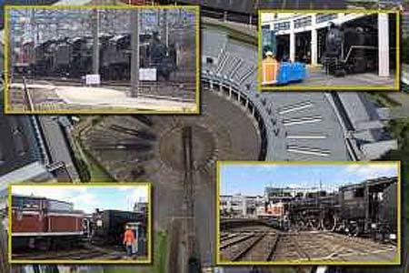 京都鉄道博物館で,ワークショップ『鉄道映像「扇形車庫のSL入換風景〜重連をつくる〜」』開催