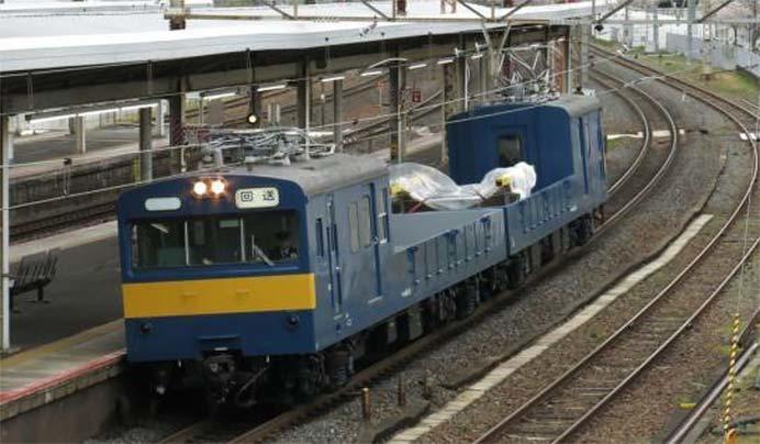 京都鉄道博物館で配給車「クル144・クモル145」を特別展示