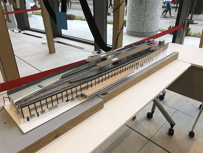 伊丹市立博物館で被災前の阪急伊丹駅模型を展示