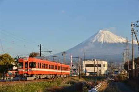 岳南電車,「岳鉄富士山の日キャンペーン」を実施