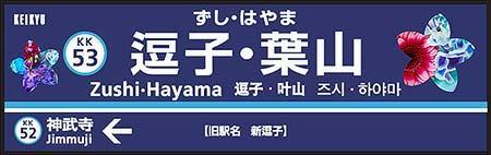 京急,駅名変更を記念した企画を実施