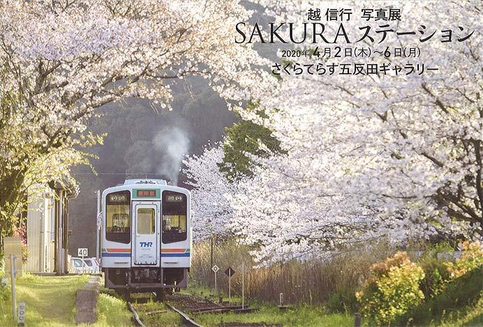 越信行写真展「SAKURA ステーション」開催