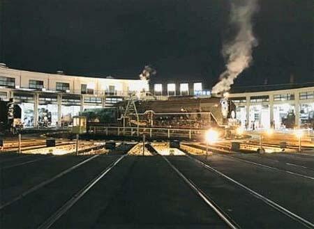 「京都鉄道博物館ナイトミュージアム」開催