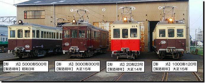ことでん,「レトロ電車特別運行」の参加者募集