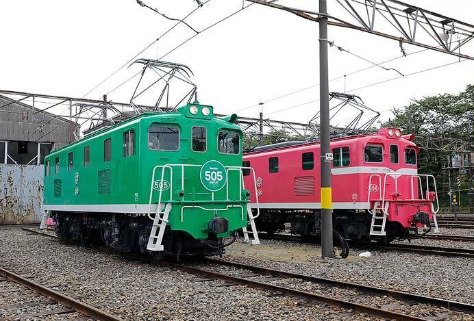 「秩父鉄道電気機関車撮影会」開催