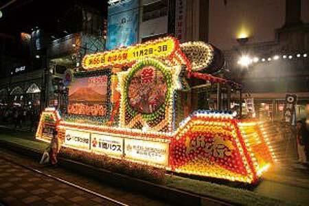 鹿児島市交通局,花電車を運転
