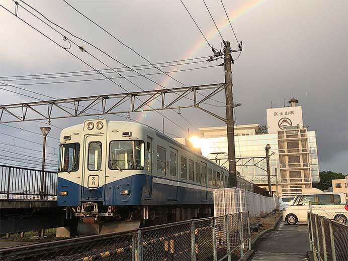 富士急行「さよなら1000系1202号編成ツアー」の参加者募集